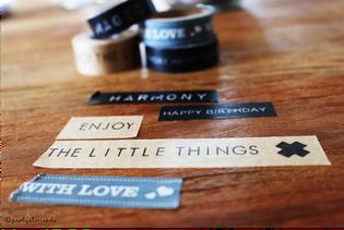 Bild: Washitape zum Verpacken, Verpackungsideen, Geschenke schön verpacken, Partystories