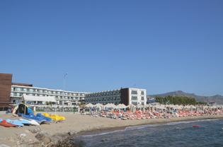 Das TUI-Sensimar, direkt am Strand von Turgutreis.