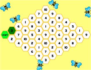 policz pszczółki