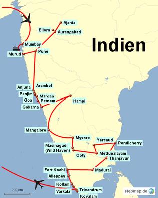 Bild: Rundreise durch Indien