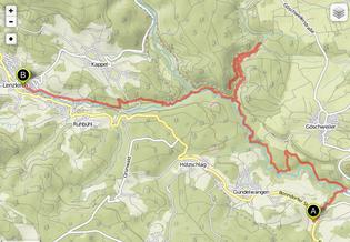 Bild: Wanderung Schluchensteig, Etappe 3