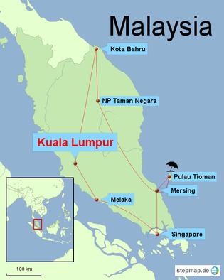 Bild: Rundreise durch Malaysia