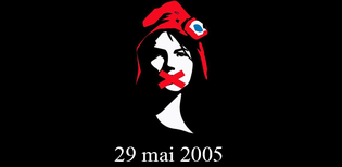 Image: 10 years ago - the French no to the EU Constitution
