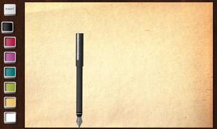 pisanie, rysowanie piórem
