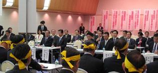トラック業界の要望を実現する会/於:千代田区永田町の海運クラブ