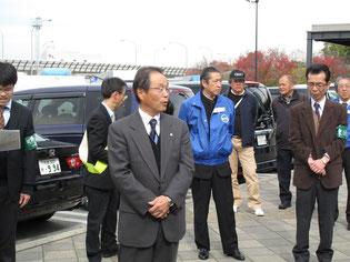 京都府過積載防止対策連絡会議による過積載防止啓発活動