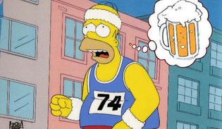 Cerveza y corredores