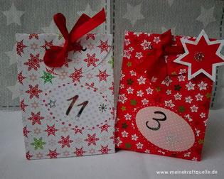 Zeitgeschenke im Adventskalender, Zeit schenken, Adventskalender ohne Konsum, günstiger Adventskalender selbstgemacht