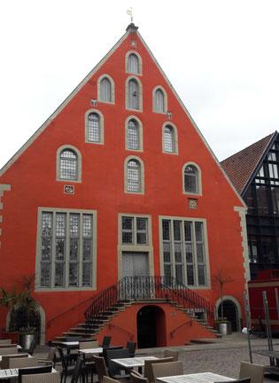 Das Ballhaus am Lemgoer Marktplatz