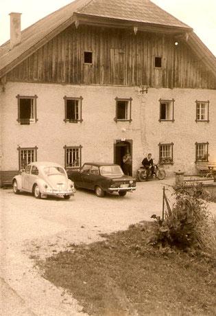Altes Bild vom Kreuzer-Bauernhof