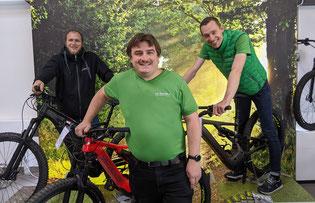 Das Team der e-motion e-Bike Welt Reutlingen