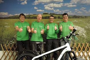 Das Team der e-motion e-Bike Welt Göppingen