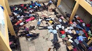 Studenti cristiani massacrati a Garissa.