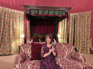 イギリス聖地ツアー スコットランドの古城ホテルにて
