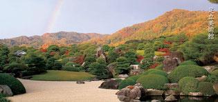 安来市の足立美術館(日本庭園)