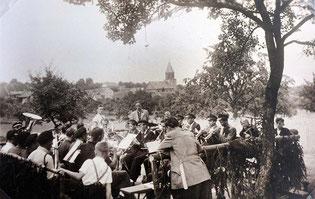 Küfers Gartenfest 1951