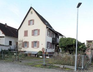 Adlerstraße 72, von Juden erbautes Haus