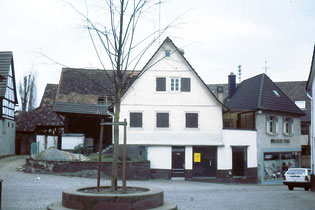 Gärtnerei Pister in der Hauptstraße 36
