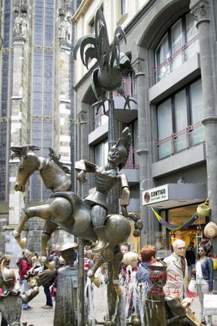 Puppenbrunnen in Aachen