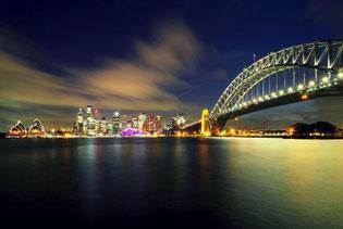 Sydney, Opernhaus, Harbour Bridge, Australien
