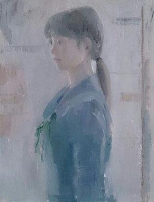 中1の春(描きはじめ) 6号油彩