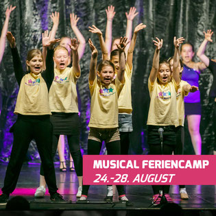 Musical Sommerferien Camp in Kleinmachnow