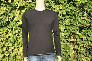 Bild: Schnittmuster Schnelle Nummer Basicshirt Langarmshirt für Männer
