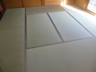 八王子市のお客様畳表替え 国産畳おもてご利用