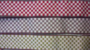 人気の畳へり(市松模様)3色の画像