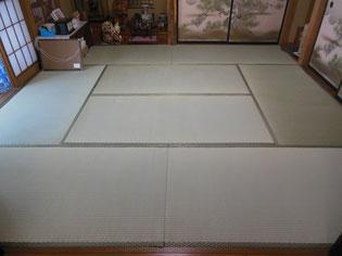 町田市 畳替え JAS等級最高級畳おもて