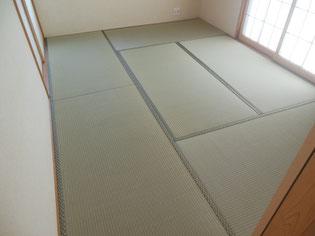 癒される畳の部屋の画像  畳替えの流れ
