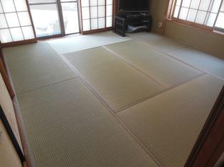国産上質の畳おもて 満足畳替え