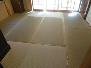 国産畳 熊本県産畳おもて 日野市 畳納品後