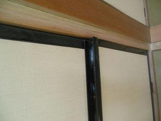 ふすまドアは毎日開け閉めすると歪んできます  芦沢製疊:あしざわせいじょう がお手伝いします