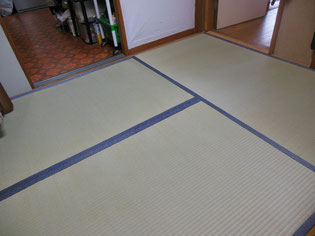 日本古典柄 鮫小紋の畳縁