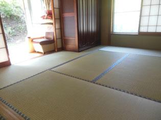 畳本体(床:とこ)から新しくした畳 お客様に喜ばれる畳