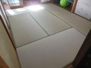 畳床・畳おもて両方を新しく!きれいな仕上がりの畳