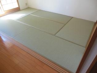 セキスイ美草 樹脂で出来た畳 丈夫で色が変わらない畳