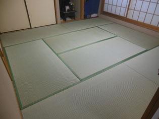 8帖畳表替え 国産JAS等級プレミアム畳おもてご使用
