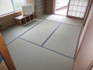 国産いぐさ畳 熊本県産の上質畳 丈夫ですり切れない畳 美しいあめ色に変わる畳
