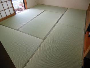 畳表替え お部屋が広く見える「本間」