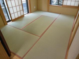 多摩市のお客様 畳の本体(畳床)も新しくした新畳:しんたたみ の施工例