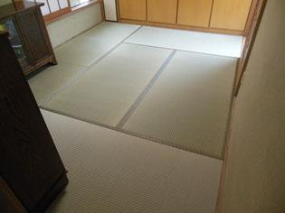 熊本県産天然いぐさたたみ 忙しくても畳替え