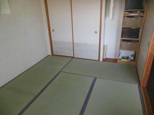 畳と一緒に「襖ふすま」も張替え