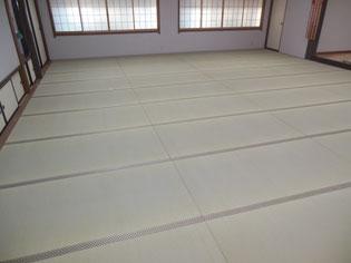 人が集まる広間の畳の敷き方