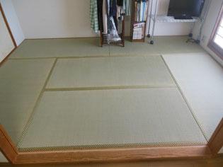 癒される畳のお部屋 人気の畳縁(たたみへり)