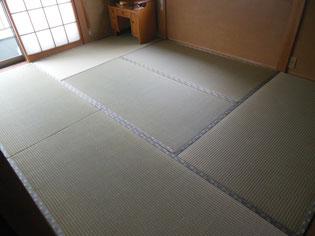 国産 熊本県産の畳おもて 上質でツヤが好評 丈夫で長持ちの畳おもて