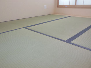古典柄の畳へり 粋な柄の畳へり施工例