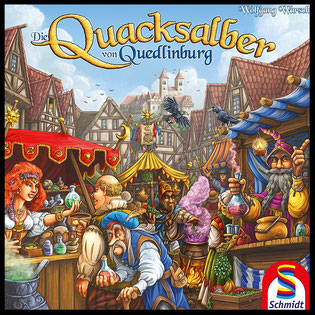 Rezension zu Die Quacksalber von Quedlinburg, Kennerspiel des Jahres 2018