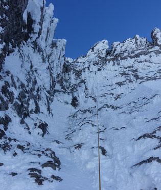 Skitour, Chli Spannort, Krönten, Kröntenhütte, Traverse